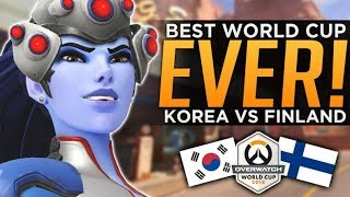 Overwatch: BEST World Cup Series EVER! - Korea vs Finland Analysis