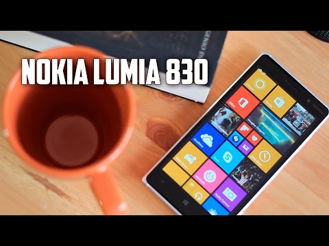 Nokia Lumia 830, Review en español