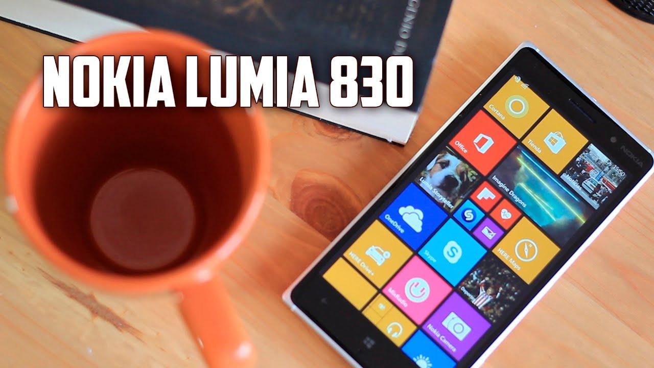 Nokia lumia 830 reviews - Nokia Lumia 830 Review En Espa Ol