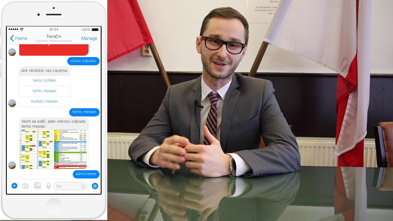 dfebab343 Mesto Trenčín bude využívať čet s umelou inteligenciou - YouTube