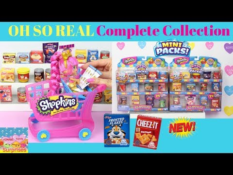 Shopkins Oh So Real Walmart Exclusives Complete Collection