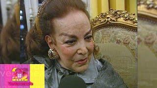 ¿Cuál fue la última voluntad de 'La Doña' María Félix? Luis Martínez de Anda lo revela.  Ventaneando