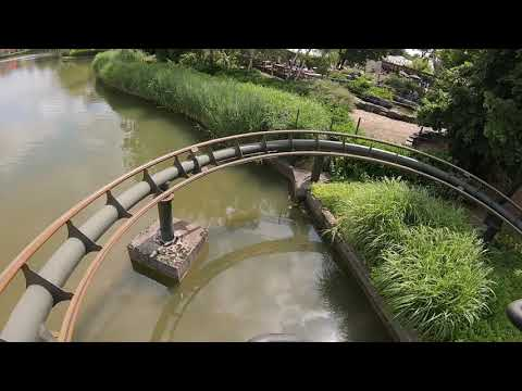 Naga Bay / Dizz (Onride) Video Bobbejaanland Lichtaart 2019