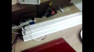 Luminária Fluorescente 2 x 20W