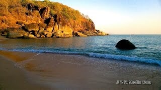 Goa's Butterfly Beach | The Most Isolated beach in Goa| गोवा के तितली समुद्र तट