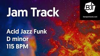 Acid Jazz Funk Jam Track in D minor - BJT #28