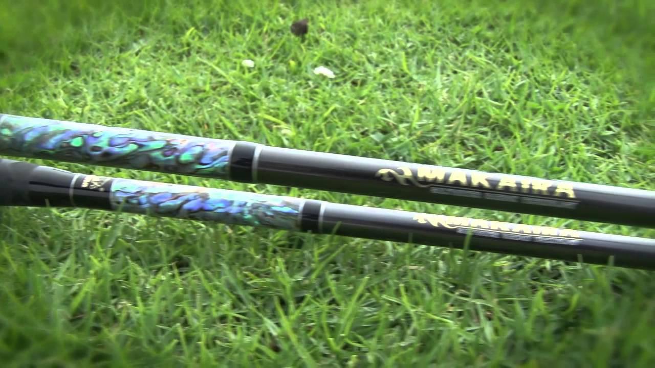 Okuma fishing tackle makaira fishing rods youtube for Okuma fishing rods