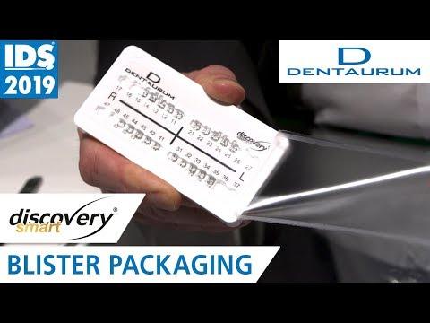 DENTAURUM Brackets in Blister Packaging | IDS 2019