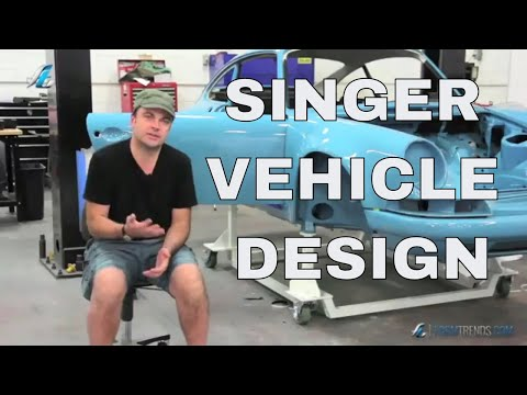 Inside Singer Vehicle Design with Founder Rob Dickinson