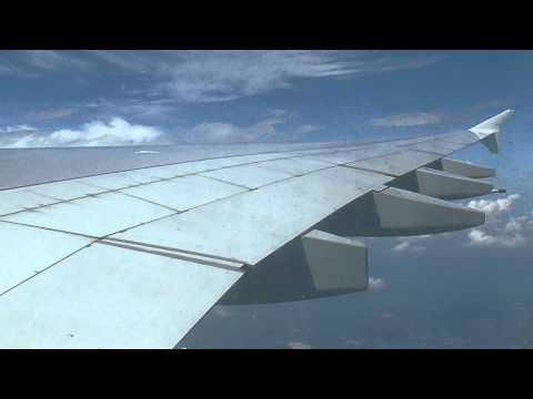 FLIGHT : Windy Landing in SIN - Emirates A380