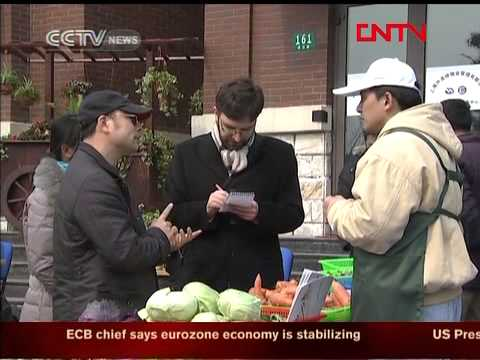 Report: Shanghai Activists Promote Organic Food