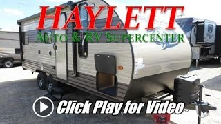 HaylettRV.com - 2018 Grey Wolf 20RDSE Special Edition Rear Living Couple's Camper by Forest River RV