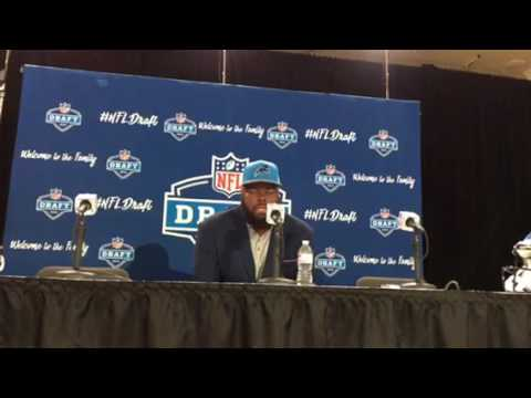 A'Shawn Robinson Detroit Lions Defensive Tackle Interview