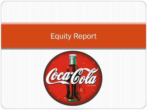Equity Research Presentation: Coca-Cola