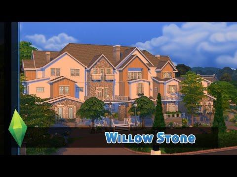 Mein bisher größtes Haus für Eure Sims! - DIE SIMS 4 HAUSBAU - WILLOW STONE