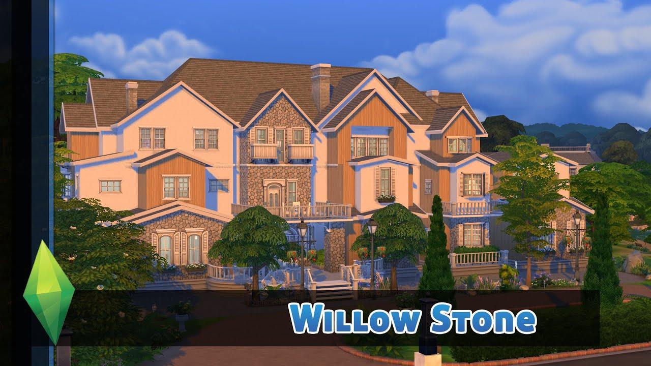 Mein bisher größtes haus für eure sims die sims 4 hausbau willow stone