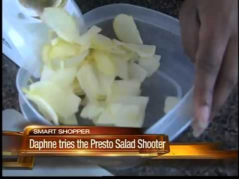 Does The Presto Salad Shooter Slice And Dice Without Hassle?