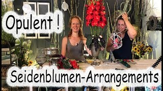 Floristik24 Opulente Seidenblumen Dekoration selbst gemacht! thumbnail