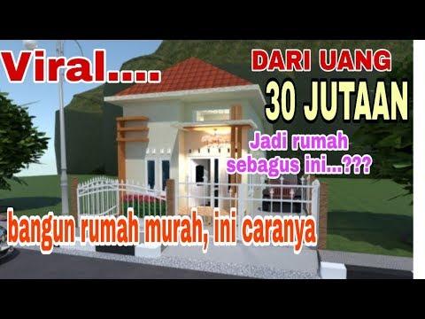 Desain Rumah Minimalis Budget 30jt Cek Bahan Bangunan
