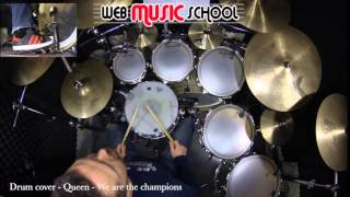 Queen - We are the champions - DRUM COVER