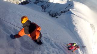Mont blanc descent