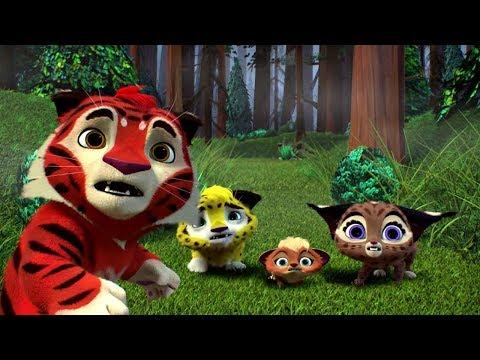Лео и Тиг сборник серий с 4 по 6   Мультфильмы про животных для детей