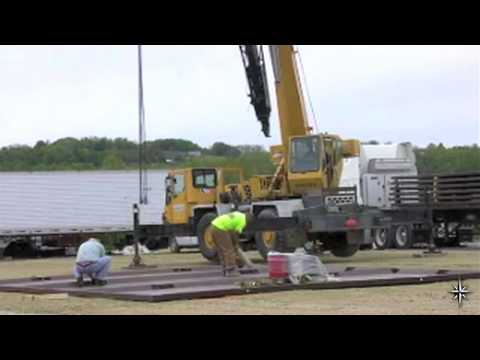Oil Driller Secondary Containment Pad Installation - Polystar Containment