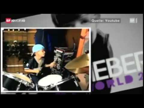 Justin Bieber - Switzerland Television - April 9, 2011