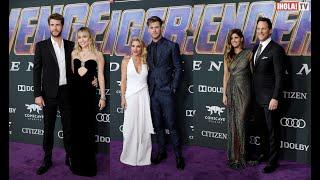 """Las parejas de Hollywood que asistieron al estreno de """"Avengers: Endgame""""   ¡HOLA! TV"""