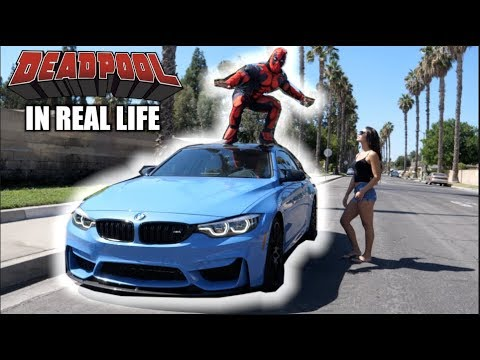 DEADPOOL in Real Life!