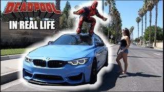 DEADPOOL in Real Life prank!