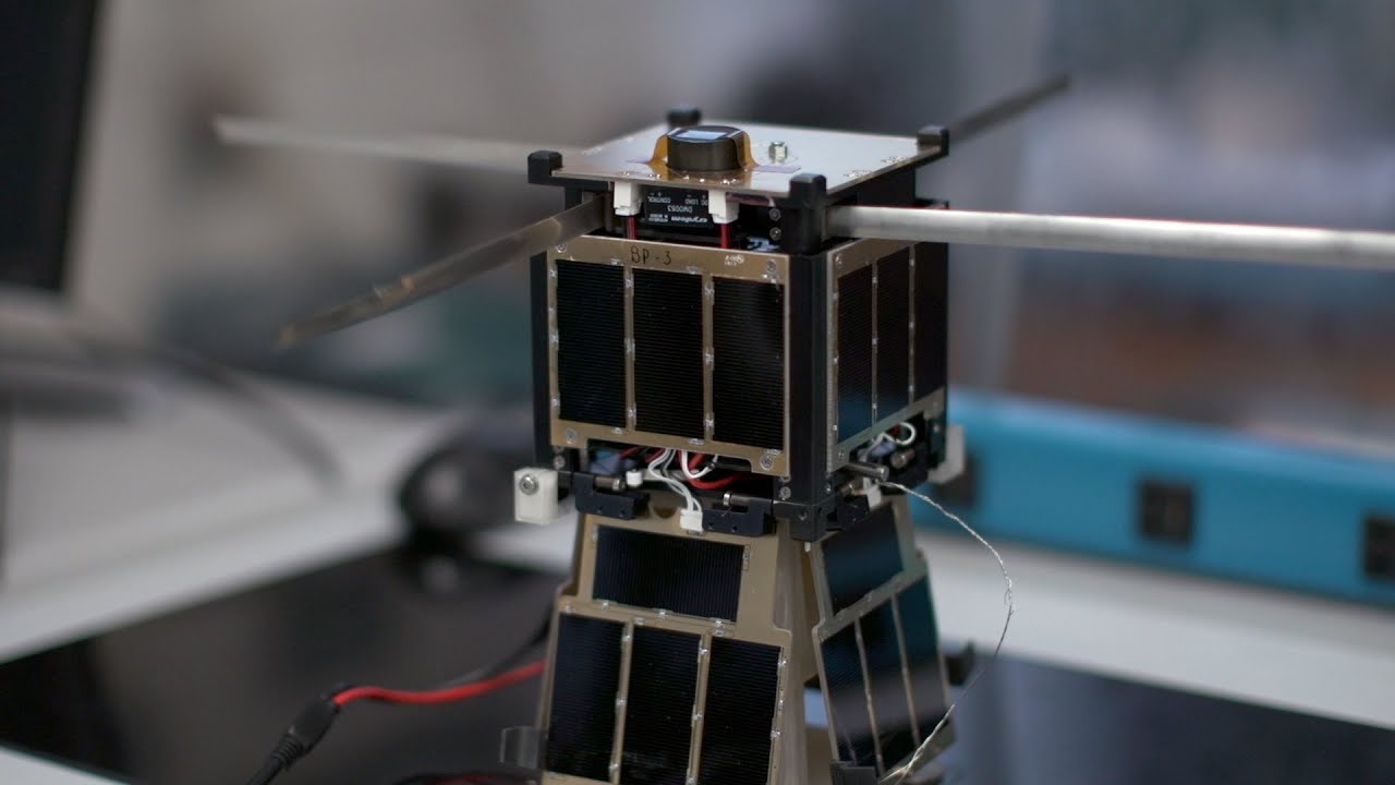 Download UK Student-Built Satellite Sends Data Back From Space