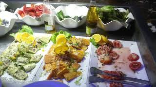 Ужин.Альбатрос аква блю 4*. Ресторан итальянской кухни С вечера до утра Шарм.Египет2019