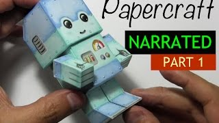 How to Make a Paper Craft Chibi Robot: PART 1