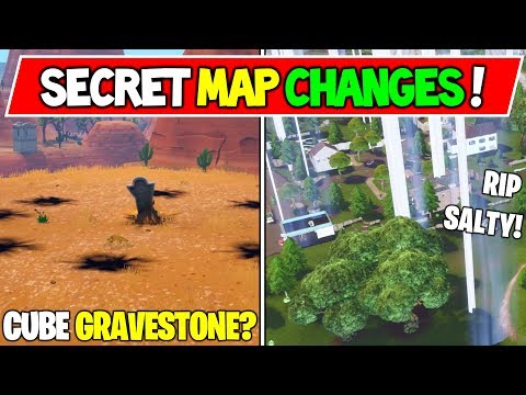 *NEW* FORTNITE CUBE EVENT SECRETS MAP CHANGES! Butterfly Event (In Real Time, Season 6 Storyline)