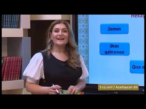 """""""Dərs vaxtı"""": 3-cü sinif dərsləri  (26.04.2021)"""