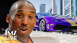 Incredible Kobe Bryant Tribute Lambo Up For Sale | TMZ Live