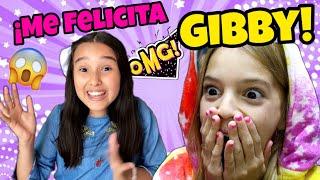 REACCIONANDO a FELICITACIONES de mis amigos YOUTUBERS-Me felicita Gibby por MI CUMPLEAÑOS😲