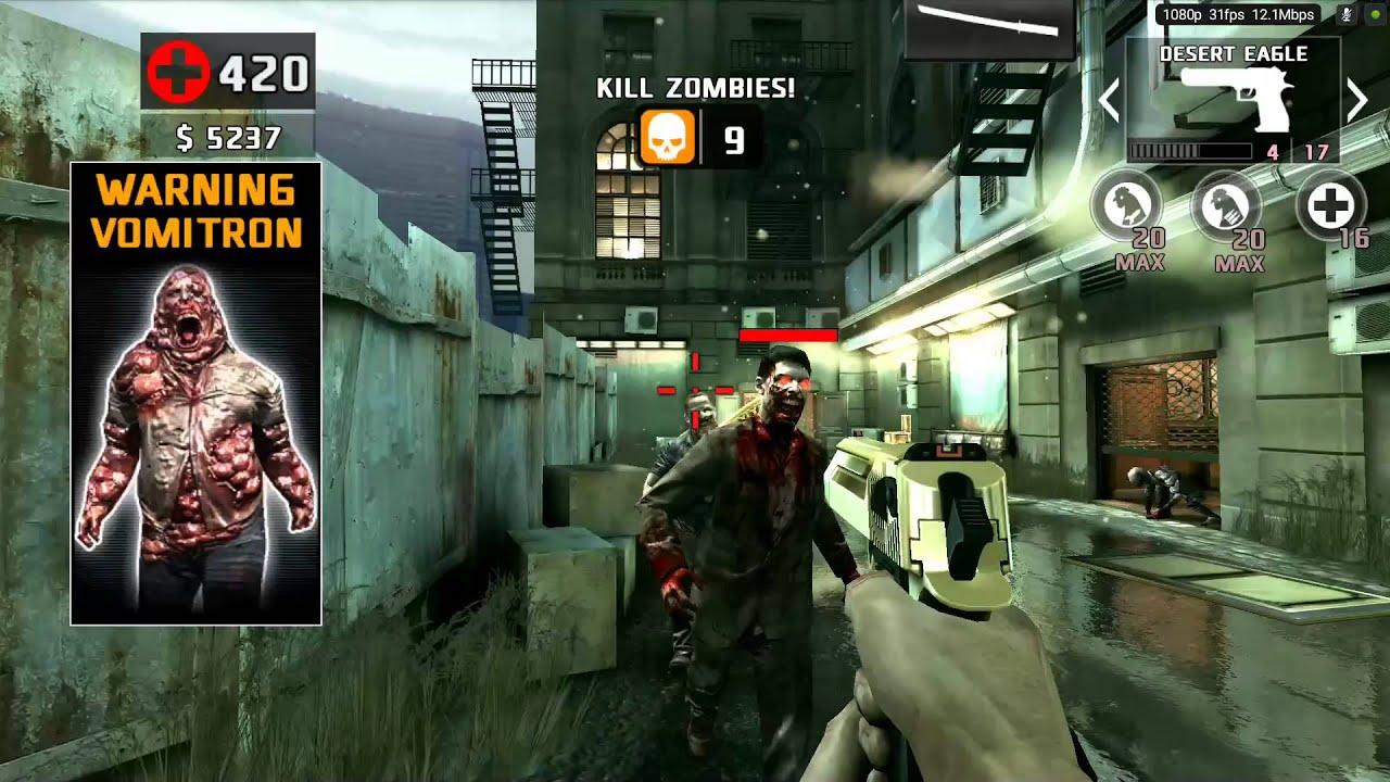 Dead Trigger 2 Return Of The Deagle Nvidia Shield Tablet Youtube