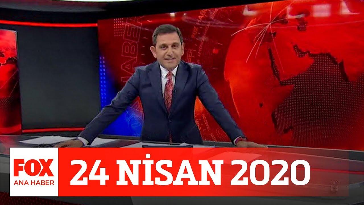 Bağış polemiği! 24 Nisan 2020 Fatih Portakal ile FOX Ana Haber