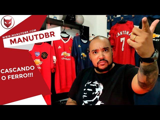 CASCANDO O FERRO!!! - ManUtd BR News - T02 EP30