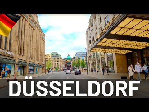 DÜSSELDORF CITY Driving Tour 2021 🇩🇪 Germany || 4K Video Tour of Düsseldorf
