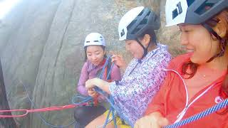 마무트 알파인 북한산 만경대 릿지 암벽 등반