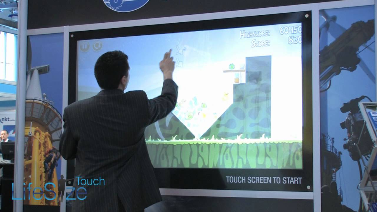 Large Touch Screen >> Lifesize Touch Large Format Through Glass Touch Screens