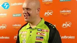 Michael van Gerwen on PC Finals victory
