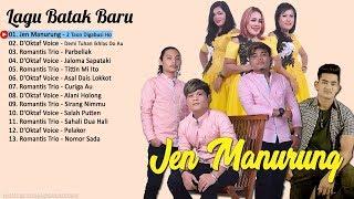 Gambar cover LAGU BATAK - Jen Manurung,  D'Oktaf Voice, Romantis Trio (Video Lirik)