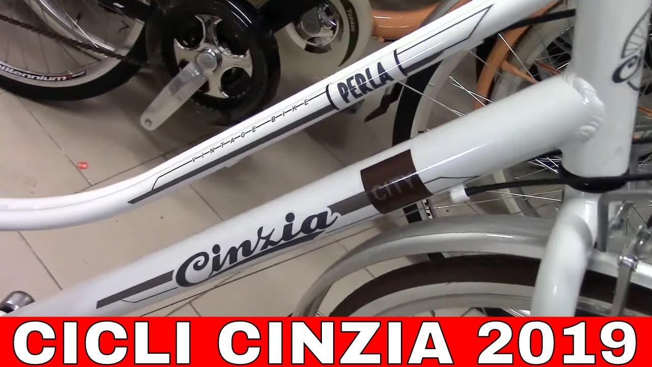 Bici Pieghevole Cicli Cinzia.Cicli Cinzia 2019 Biciclette Per Tutti I Gusti Youtube