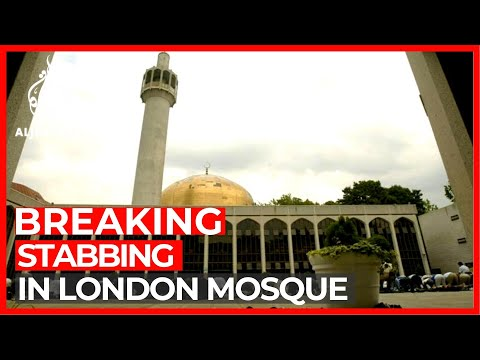 Man stabbed at central London mosque