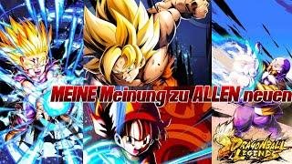 MEINE Meinung zu den neuen Helden! Son Gohan, Son Goku & Pan Liebe! ;) | Dragon Ball Legends Deutsch