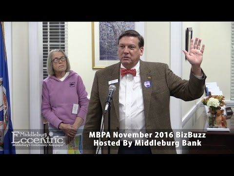 November 2016 Middleburg Business and Professional Association Biz Buzz Mixer